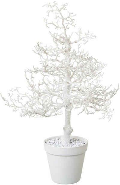 Kunstbaum »Hainbuche«, Creativ deco, Höhe 44 cm, mit Glitter