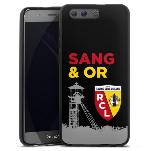 DeinDesign Handyhülle »Tower Sang Or« Huawei Honor 9, Hülle Offizielles Lizenzprodukt RCL Racing Club de Lens