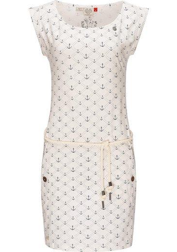 Ragwear Jerseykleid »Tag Marina« stylisches Shirtkleid mit maritimem Druck