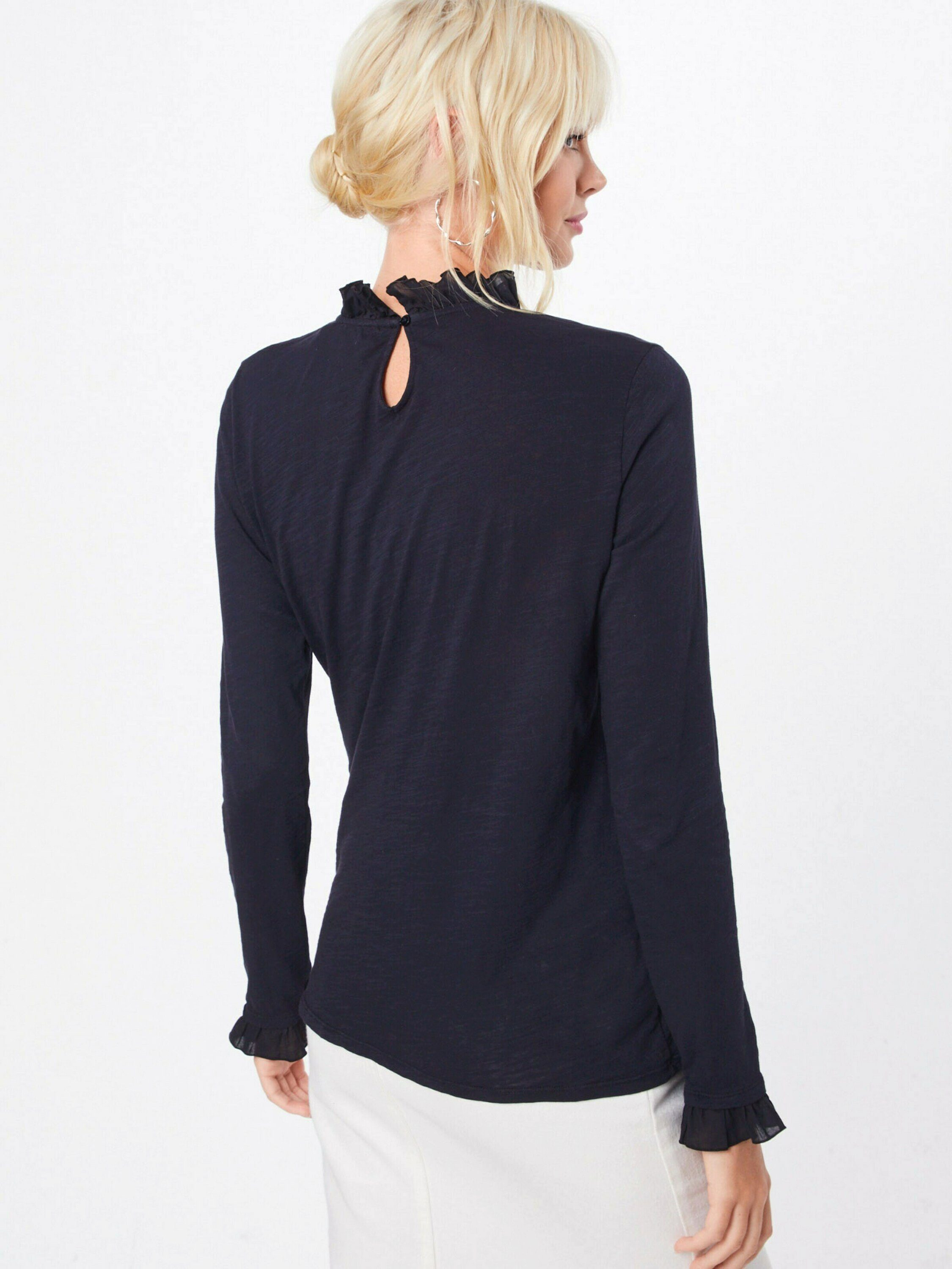 Rich & Royal Langarmshirt Cut-outs Online Kaufen