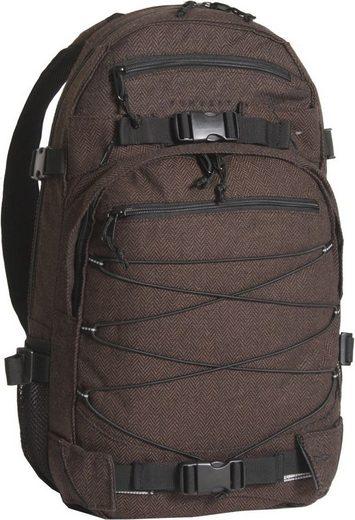 forvert Freizeitrucksack »New Louis, flannel brown«
