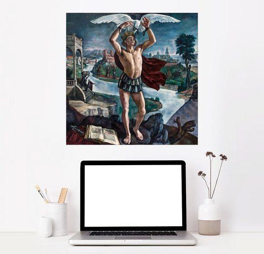 Posterlounge Wandbild, Legende der Krone