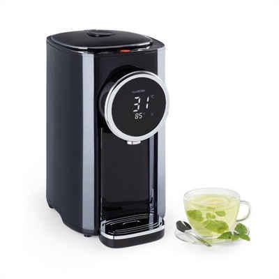 Klarstein Wasserkocher Hot Spring Plus Heißwasserspender 5l Edelstahl-Wassertank 45-95 °C schwarz, 5 l, 1200 W