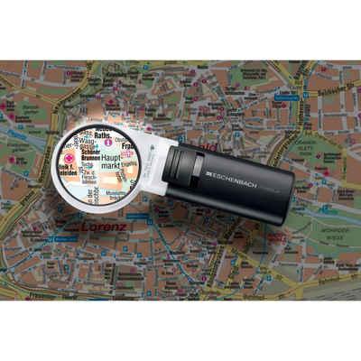Eschenbach Optik Standlupe »Lupe mobiluxLED, 12D 3x«, 3 fache Vergrößerung, 12 Dioptrie