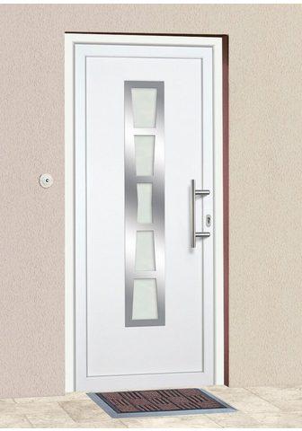 KM Zaun Haustür »K640« BxH: 98x198 cm weiß in ...