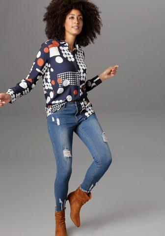 Aniston SELECTED Marškiniai im modernen Pünktchen