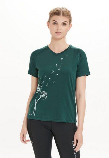 ENDURANCE Funktionsshirt »Plina W S/S Tee« mit trendigem Frontprint