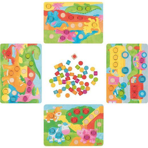 goki Spiel, »Farbwürfelspiel II«