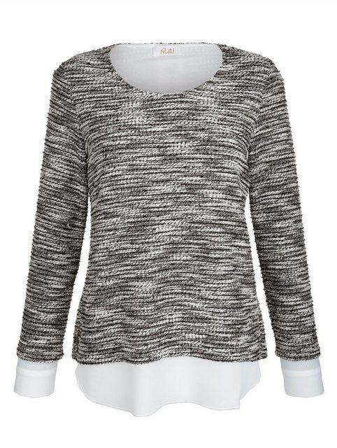 Paola 2-in-1 Pullover mit Blusenbesatz | Bekleidung > Pullover > 2-in-1 Pullover | Paola