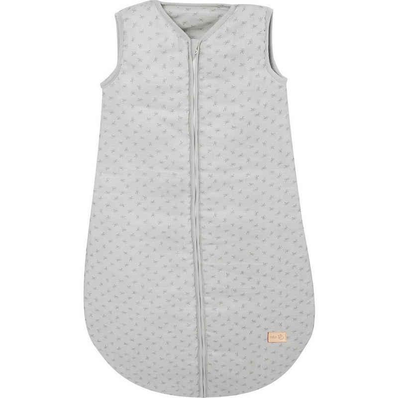 "roba® Babyschlafsack »Schlafsack ""Lil Planet"", 100% Baumwolle, grau, 90«"