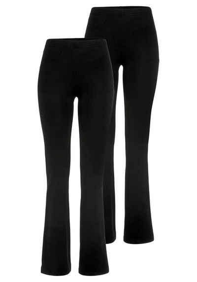 Flashlights Jazzpants (Packung, 2er-Pack) mit leicht ausgestelltem Bein