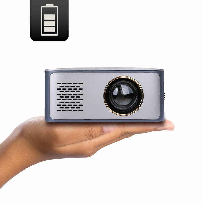 LA VAGUE »LV-HD120« LED-Beamer (600 lm, 1000:1, 1920 x 1080 px, Ideal zum Streamen von NETFLIX & YOUTUBE (mit Amazon Fire TV Stick, Google Chromecast, Apple TV)