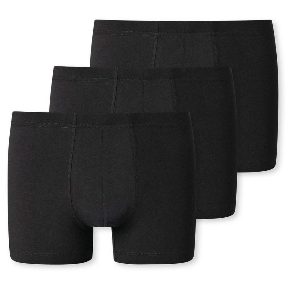 Schiesser Herren Boxershorts Unterhosen Essentials 95//5 Organic Cotton3 Stück