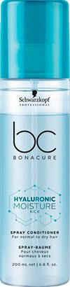 Schwarzkopf Professional Haarpflege-Spray »Bonacure Hyaluronic Moisture Kick Spray Conditioner«, Sprühconditioner