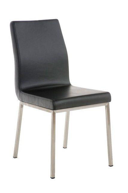 Stühle und Bänke - CLP Esszimmerstuhl »Colmar Kunstleder« Edelstahlgestell  - Onlineshop OTTO