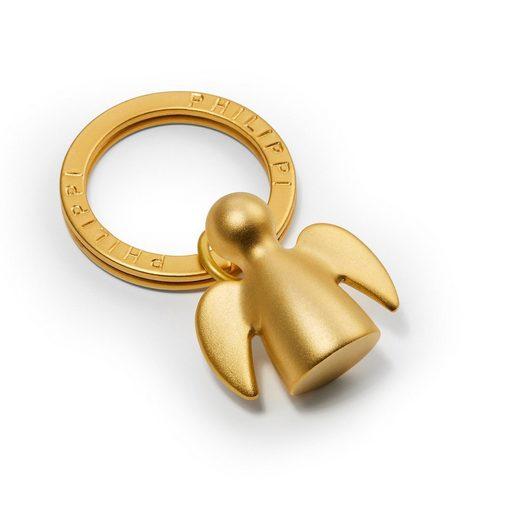PHILIPPI Schlüsselanhänger »Schlüsselanhänger ANGELO Schutzengel, gold«