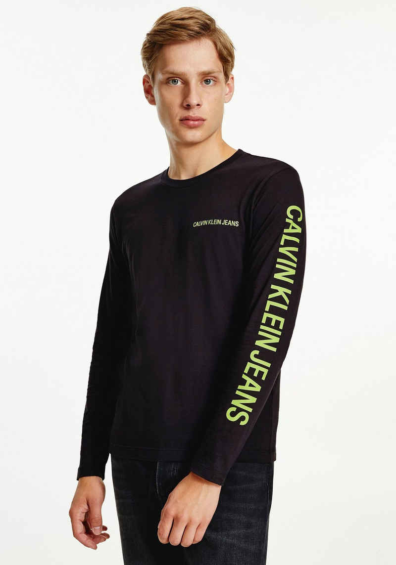 Calvin Klein Jeans Langarmshirt »ESSENTIAL INSTIT LS TEE«