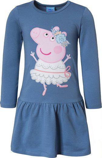 Peppa Pig Jerseykleid »Peppa Pig Kinder Jerseykleid«