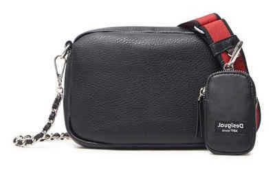 Desigual Umhängetasche, im kleinen Format, mit kleiner Zusatztasche