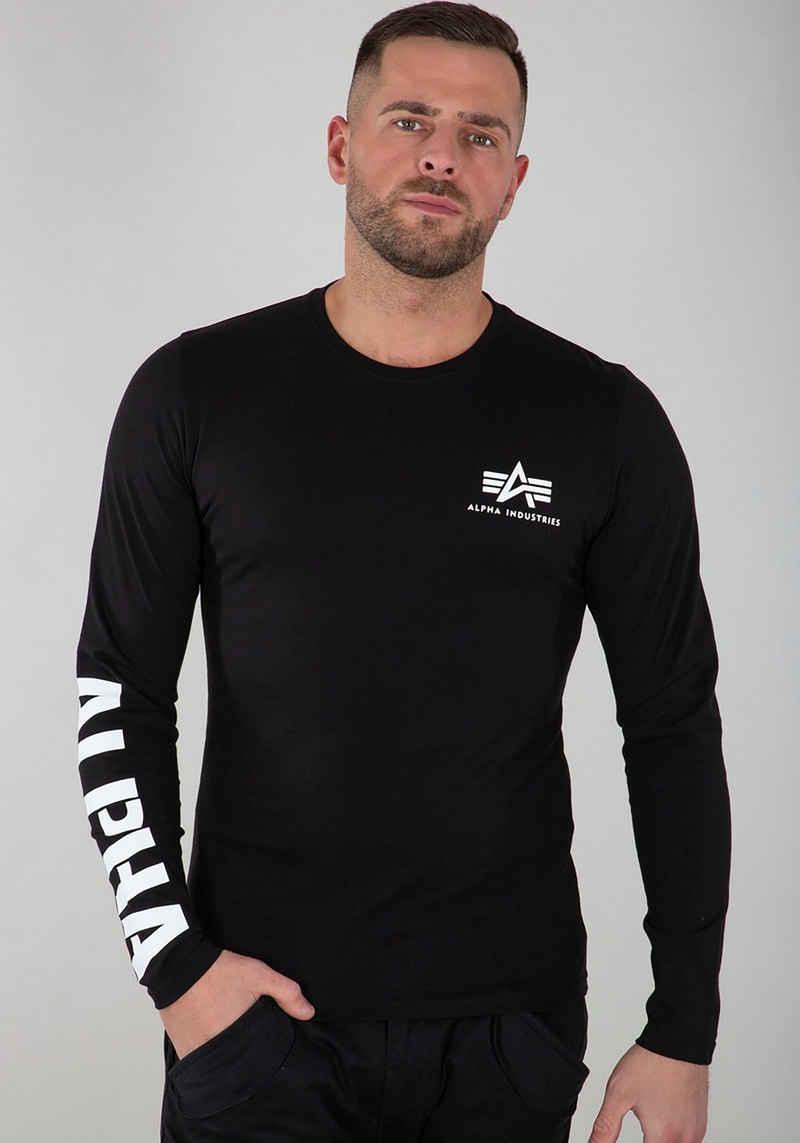 Alpha Industries Langarmshirt »Sleeve Print LS«
