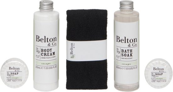 Pflege-Geschenkset »Belton & Co - Escape Bath & Body Set«, 5-tlg.
