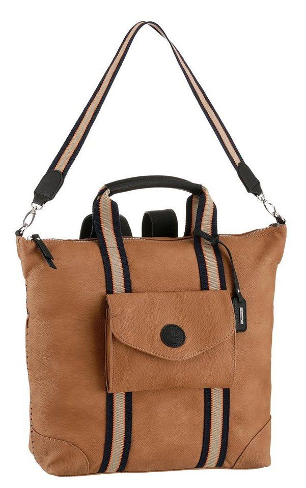 rieker -  Shopper, auch als Rucksack tragbar