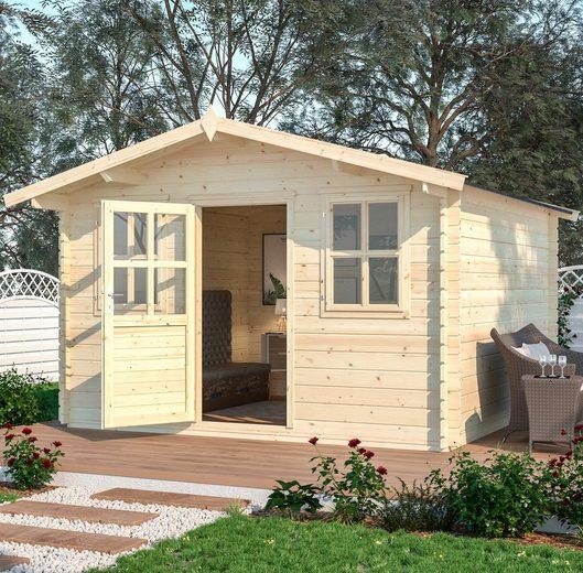 Nordic Holz Gartenhaus »Bergamo«, BxT: 390x401 cm