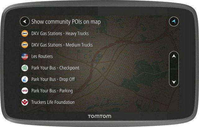 TomTom GO Professional 6250 LKW-Navigationsgerät Europa 48 Länder , inklusive lebenslanger Kartenupdates