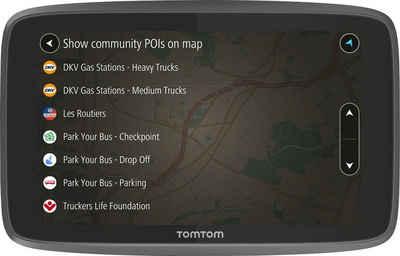 TomTom »GO Professional 6250« LKW-Navigationsgerät (Europa (48 Länder), Karten-Updates)