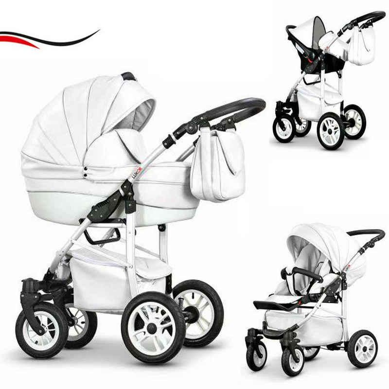 babies-on-wheels Kombi-Kinderwagen »Cosmo Eco 3 in 1 inkl. Autositz - 16 Teile - von Geburt bis 4 Jahre in 16 Farben«