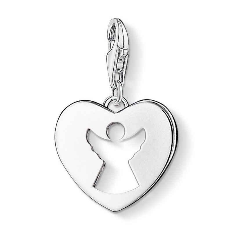 THOMAS SABO Charm-Einhänger »0869-001-12 Charm-Anhänger Schutzengel-Herz Silber«