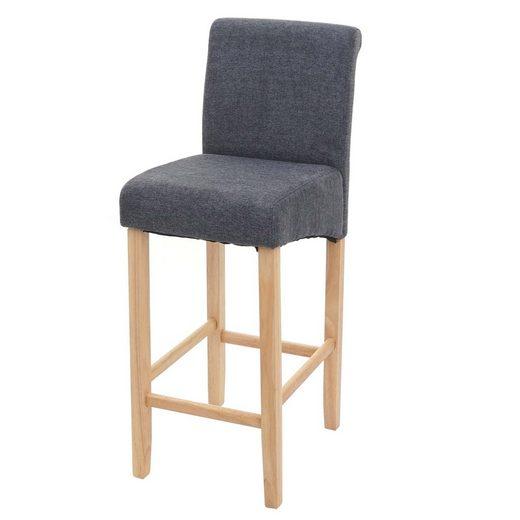 MCW Barhocker »MCW-C33«, Angenehme Polsterung, Stabile Beine aus Holz
