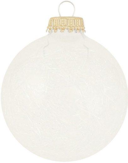Krebs Glas Lauscha Weihnachtsbaumkugel »CBK50508« (6 Stück)