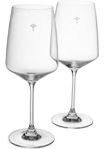 Joop! Rotweinglas » SINGLE CORNFLOWER« Krist...