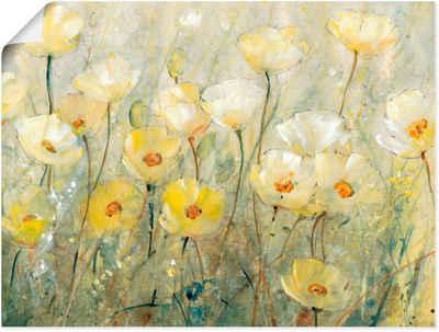 Artland Wandbild »Sommer in voller Blüte II«, Blumenwiese (1 Stück), in vielen Größen & Produktarten - Alubild / Outdoorbild für den Außenbereich, Leinwandbild, Poster, Wandaufkleber / Wandtattoo auch für Badezimmer geeignet
