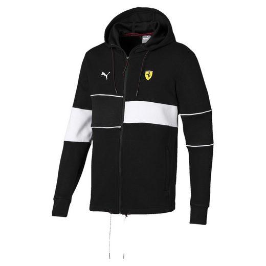 PUMA Sweater »Ferrari Herren Kapuzen-Sweatjacke«