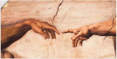 Artland Wandbild »Hände«, Religion (1 Stück), in vielen Größen & Produktarten - Alubild / Outdoorbild für den Außenbereich, Leinwandbild, Poster, Wandaufkleber / Wandtattoo auch für Badezimmer geeignet