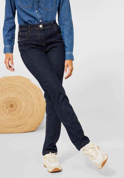 Cecil Stretch-Jeans »Style Toronto« trageangenehme Baumwoll-Stretchqualität