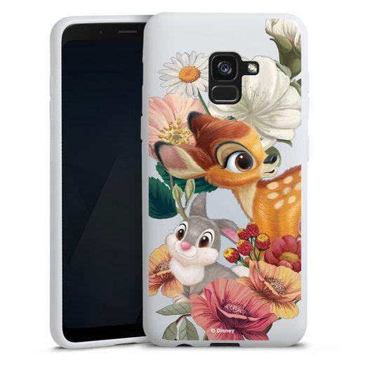 DeinDesign Handyhülle »Bambi, Klopfer transparent« Samsung Galaxy A8 Duos (2018), Hülle Bambi Disney Klopfer
