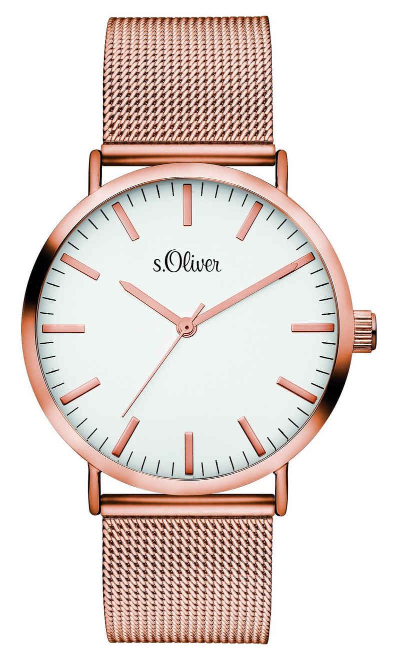s.Oliver Quarzuhr »Armbanduhr«