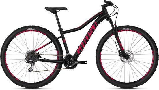 Ghost Mountainbike »Lanao 3.9 AL W«, 27 Gang Shimano Acera RD-M3000 9-S Schaltwerk, Kettenschaltung, KSA40