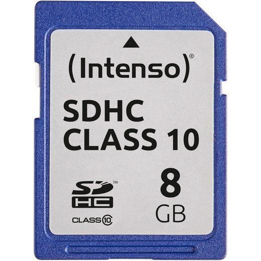 Intenso »Secure Digital SDHC Card 8 GB, Class 10« Speicherkarte