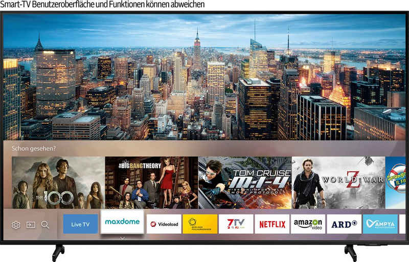 Samsung GQ50Q60AAU QLED-Fernseher (125 cm/50 Zoll, 4K Ultra HD, Smart-TV)