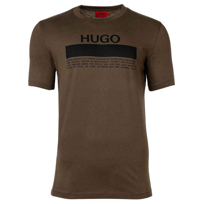 HUGO T-Shirt »Herren T-Shirt - Daitai, Rundhals, Kurzarm,«