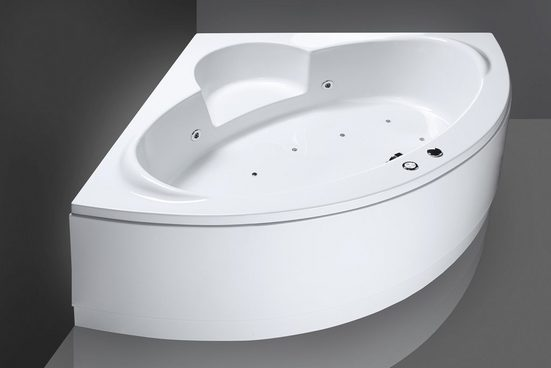 OTTOFOND Eckwanne »Sardinia«, 151 cm / 62 cm, Whirlpool-System Premium