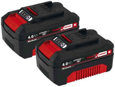 Einhell »PXC-Twinpack« Akku (18,0 V, 2 St), Power X-Change, 2-tlg., 18 V, 4 Ah