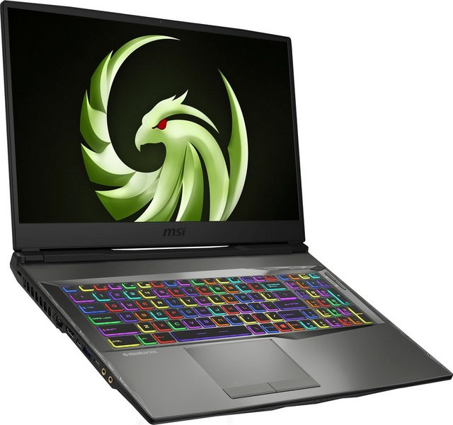 MSI Alpha 17 A4DEK-009 Notebook 43,9 cm 17,3 Zoll, AMD Ryzen 7, 512 GB SSD