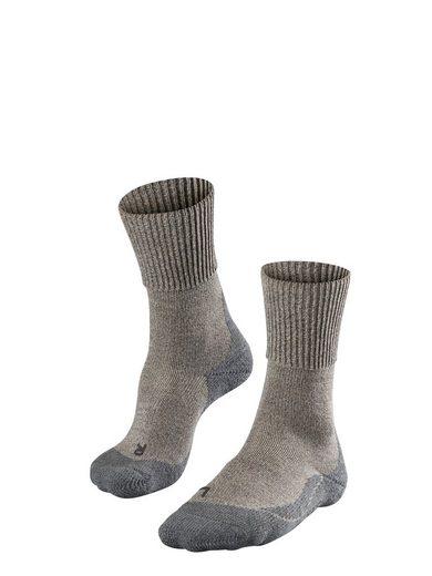 FALKE Wandersocken »TK1 Wool Trekking« (1-Paar) mit extra starker Polsterung