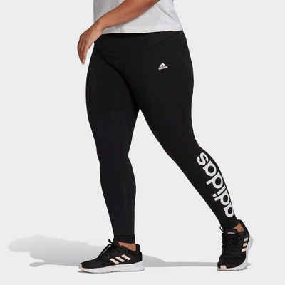adidas Performance Leggings »ESSENTIALS HIGH WAIST LEGGING (PLUS SIZE)«