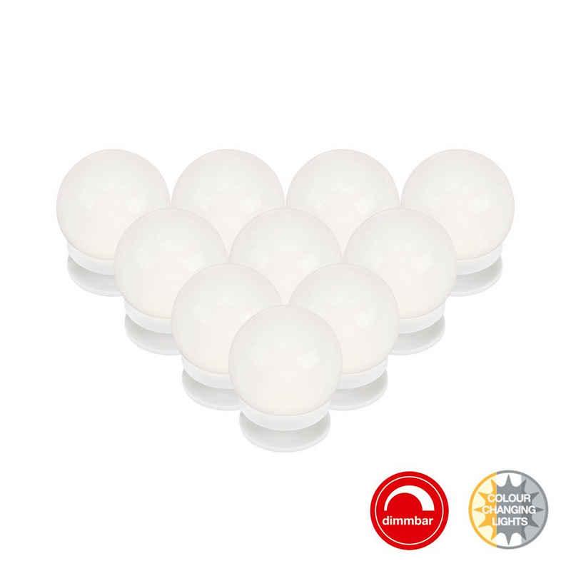 Briloner Leuchten LED Lichtleiste »2012-106«, Spiegelleuchte Kosmetik dimmbar + CCT Steuerung